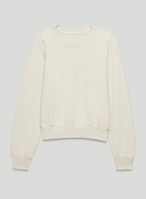 THE DEBBIE CREW SWEATSHIRT - Relaxed crew-neck sweatshirt