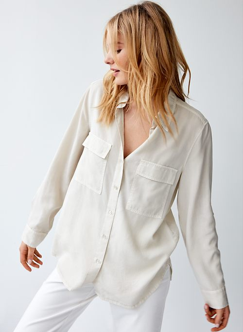 6aa1c9655 Button Down Shirts for Women | Aritzia CA