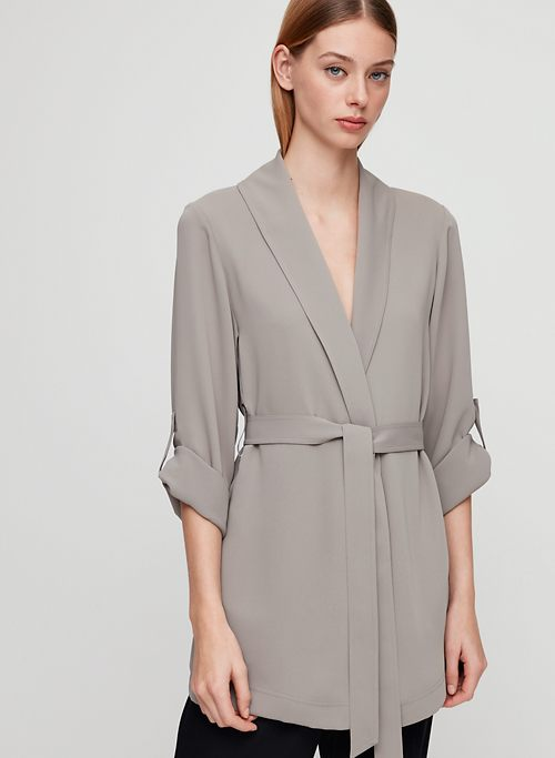 162461a75b3b9 KAHLO ROBE MID - Mid-length, robe jacket