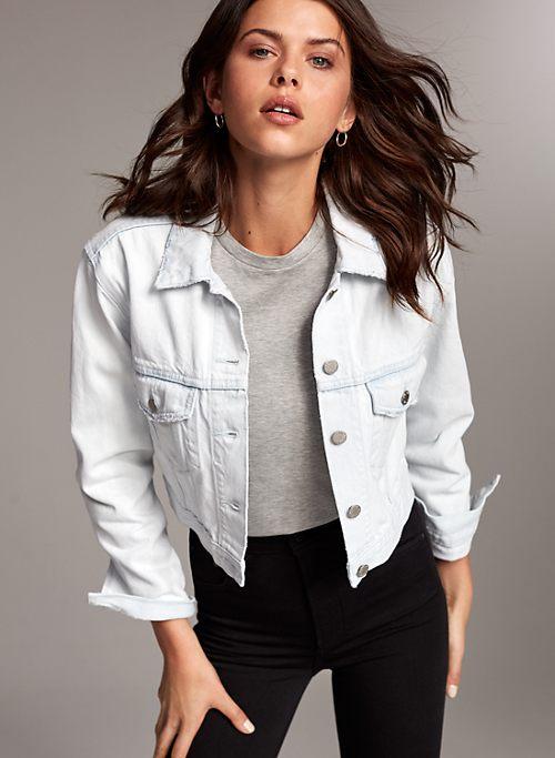 14a353e5 Denim Jackets for Women | Aritzia CA