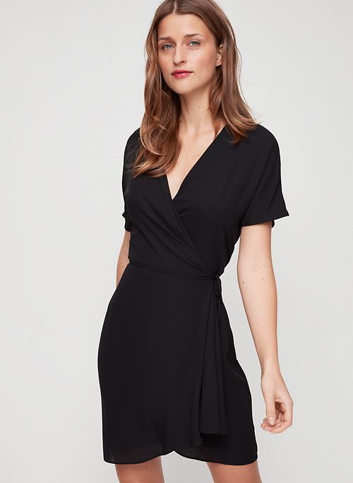 cacc5cc09357 WALLACE DRESS - Short-sleeve wrap dress