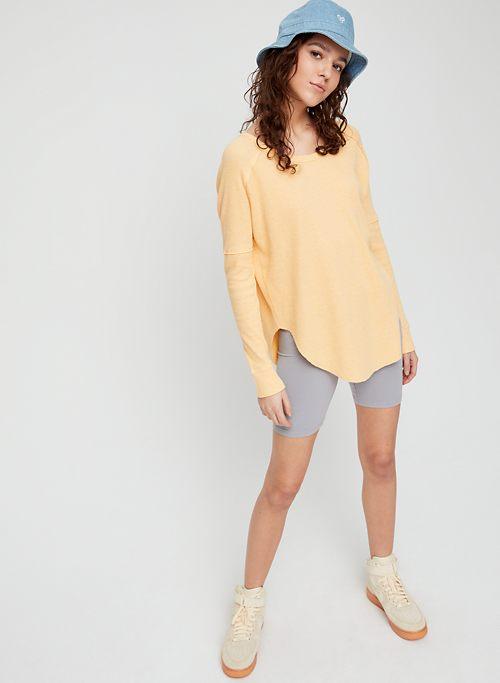 1f816c2f00a8 ALDER THERMAL - Long-sleeve waffle-knit shirt