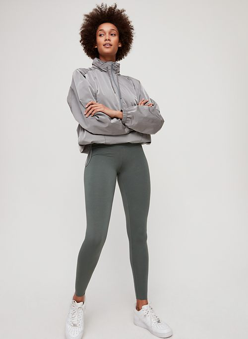 Activewear Original Nwt Tna Aritzia The Equator Black Stretch Crop Legging Sz M
