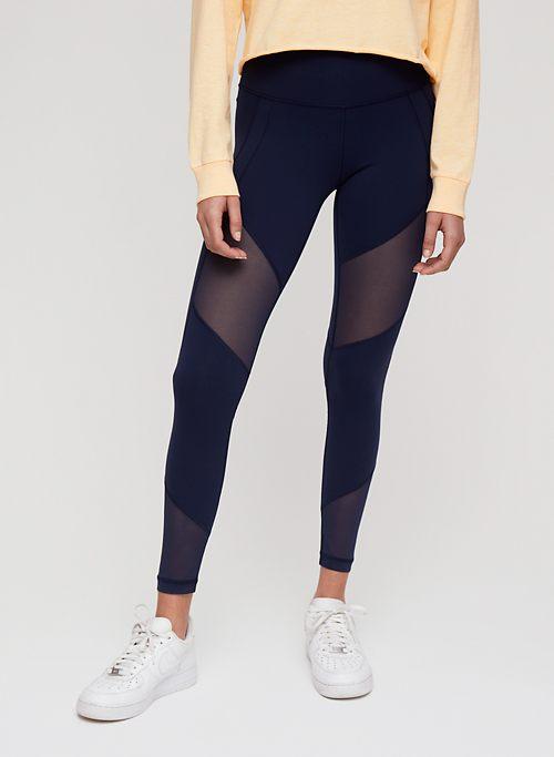 fe8ae7dd0cc5cc ATMOSPHERE LEGGING - High-waisted, mesh workout leggings