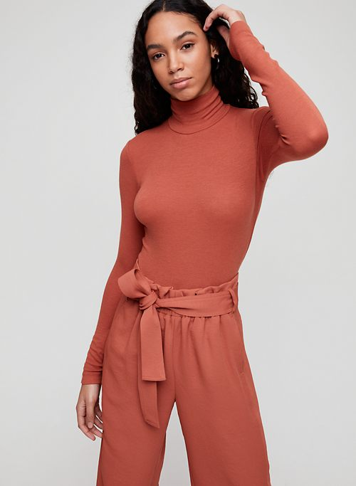 4d46c9282be0 ONLY TURTLENECK - Long-sleeve, ribbed turtleneck shirt
