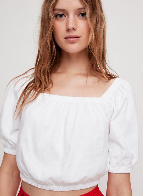 56c2453803d2db White | Off-the-Shoulder Tops for Women | Aritzia INTL