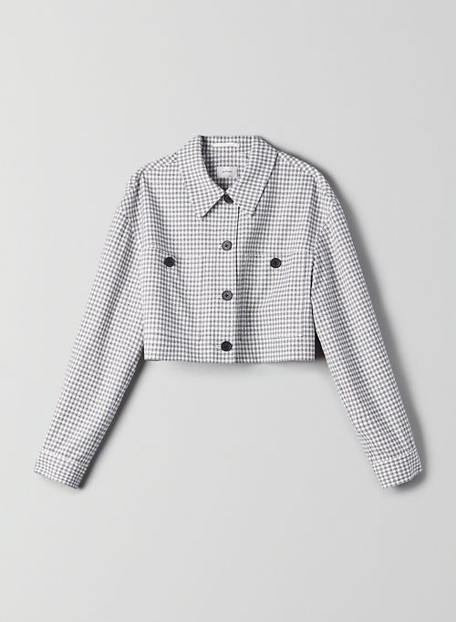 OURSON JACKET - Cropped, gingham jacket