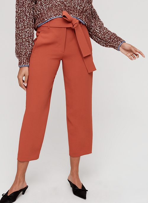 df9a51bbf4 TIE-FRONT PANT