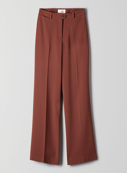 ROSALEE PANT - High-waisted, wide-leg trousers