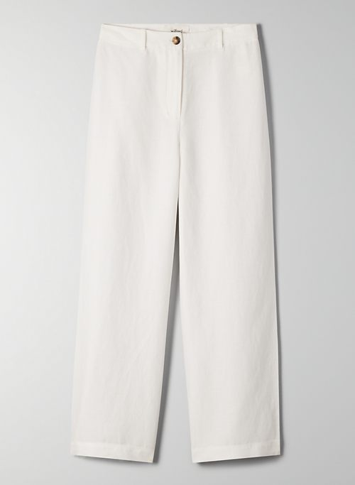 EASTON PANT - High-waisted flare pant