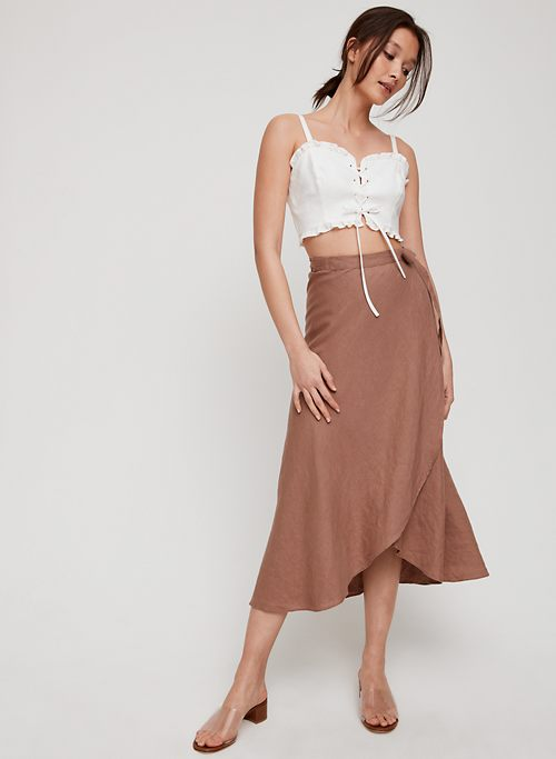 87e972be14 Wilfred ELETA SKIRT | Aritzia CA