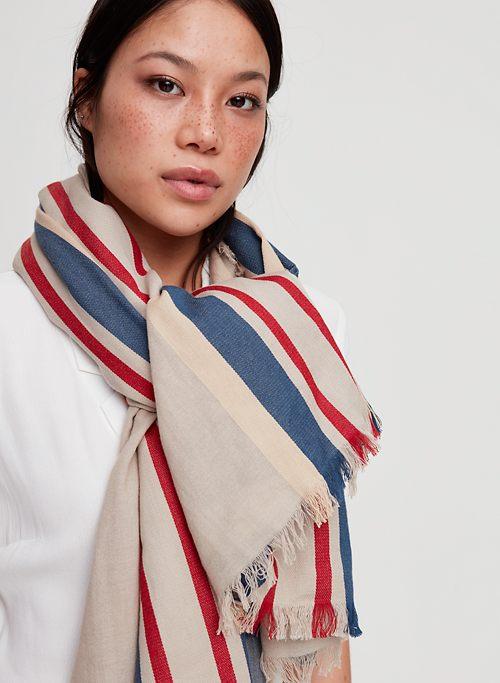 908ea50d6 STRIPED BLANKET SCARF - Lightweight blanket scarf
