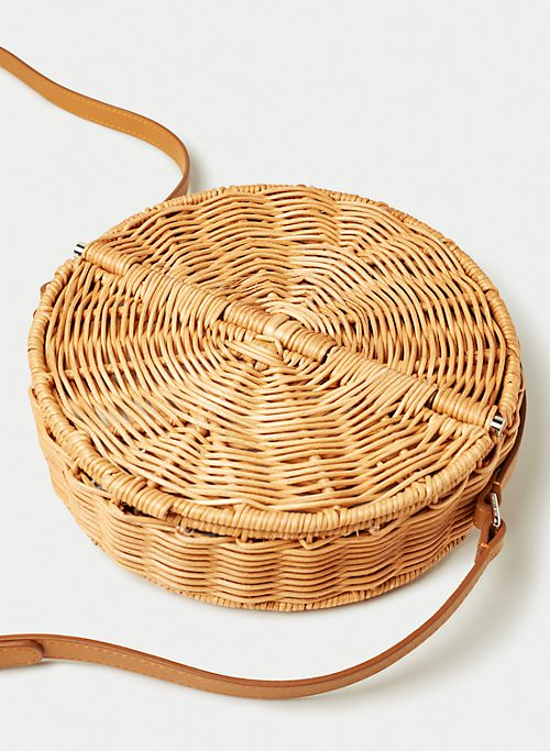 PROVENCE WICKER BAG | Aritzia