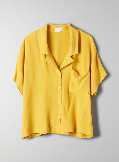 516f5191 Yellow | Button Down Shirts for Women | Aritzia CA