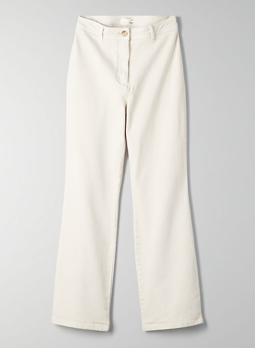 LIZZIE PANT - High-waisted, cropped flare pant