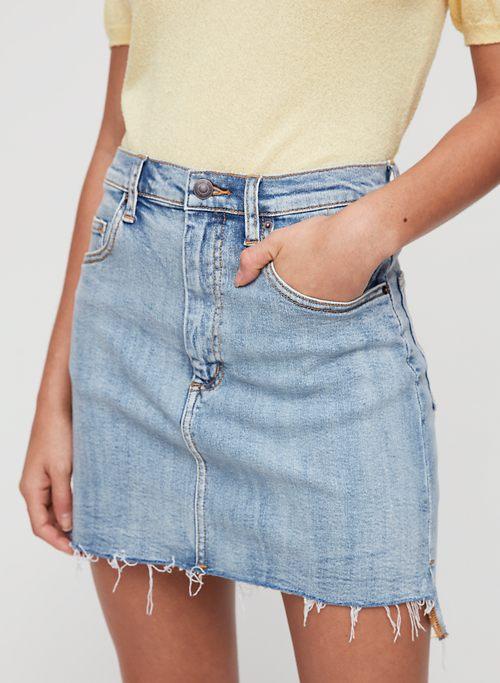 f04b5507c1 Denim Skirts for Women   Aritzia CA
