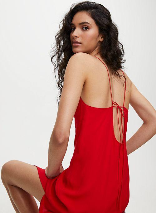 e8ca4f8666de0 FELICITY DRESS - Side-slit slip dress
