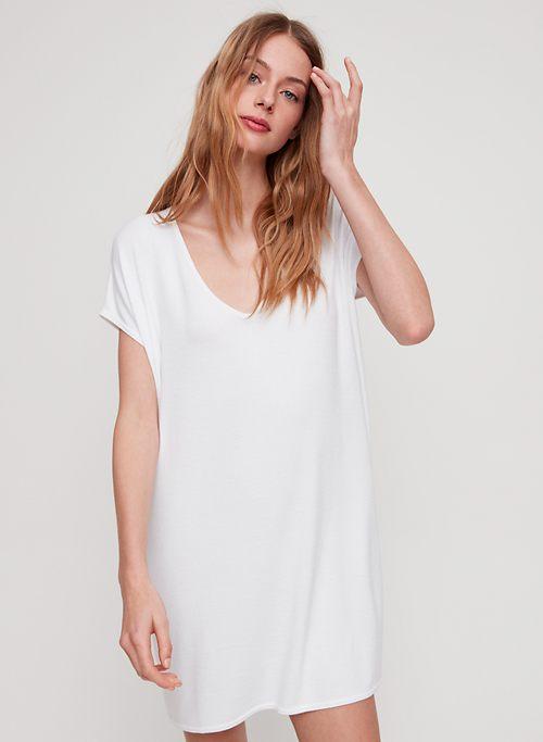 3e56fa0845 MARCOUX DRESS - Jersey t-shirt dress with pockets