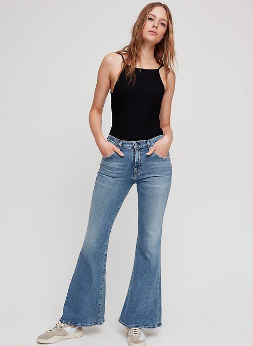 225c473c8c Flared Jeans for Women | Aritzia CA