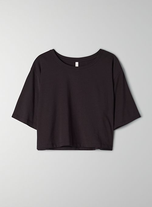 FOUNDATION CROP T-SHIRT | Aritzia