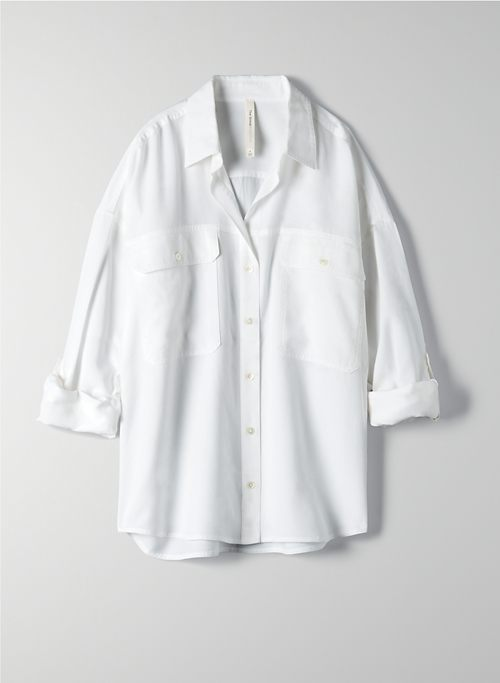 OVERSIZED UTILITY BUTTON-UP | Aritzia
