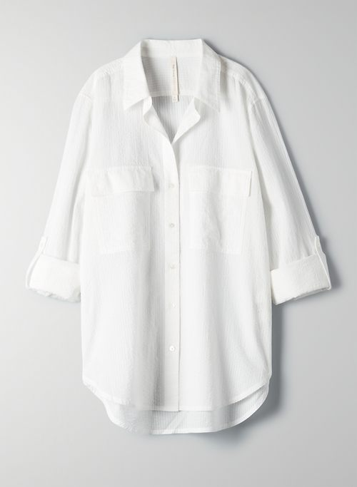 UTILITY BUTTON-UP - Button-front utility shirt