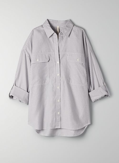 OVERSIZED UTILITY BUTTON-UP