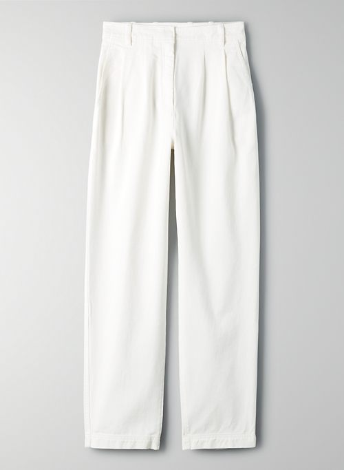 ANTARES PANT - High-waisted wide-leg pants