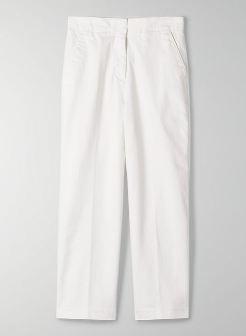NEW WIDE LEG CROPPED PANT | Aritzia