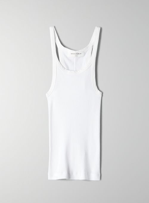THE JANE RIB TANK | Aritzia