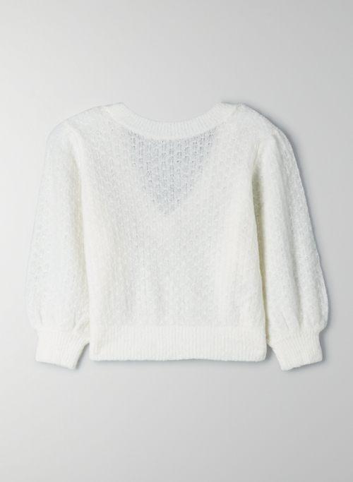 OPTIMA SWEATER - Cropped wool sweater