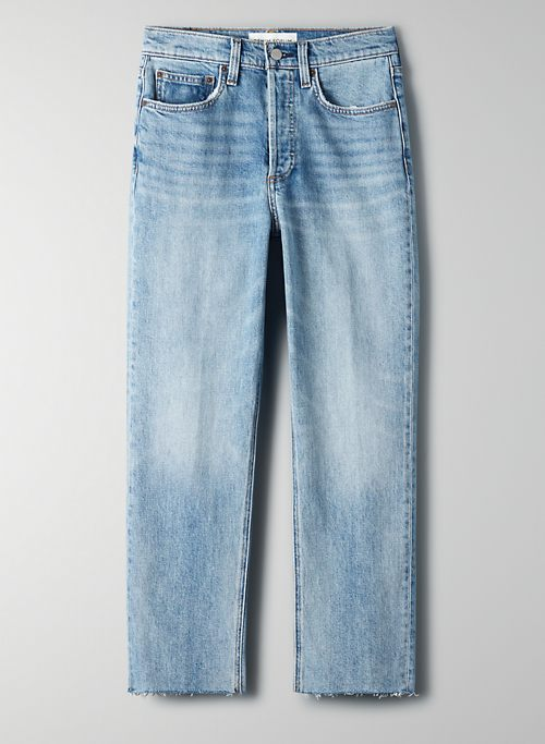 THE ARLO HIGH RISE STRAIGHT | Aritzia