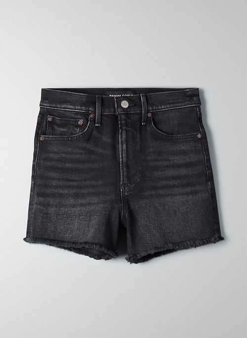 THE ARLO SHORT - High-rise cut-off Arlo shorts