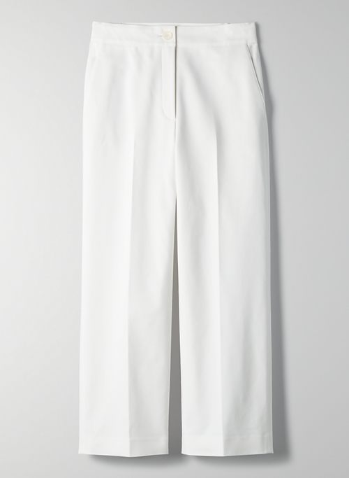 TORINO PANT - High-rise pleated trousers