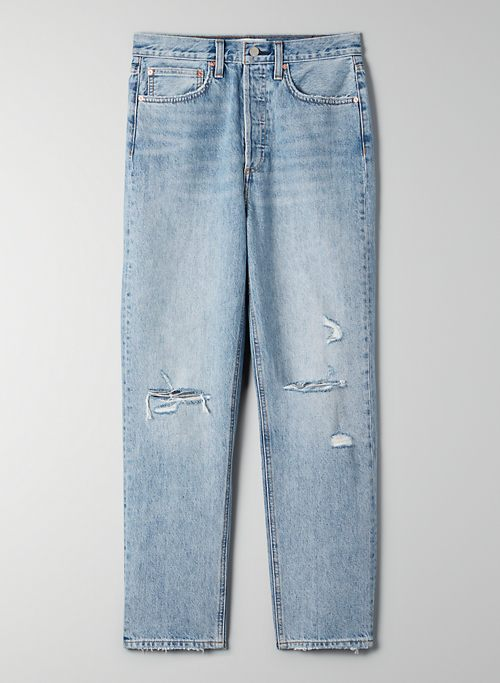 THE JONI HIGH RISE LOOSE JEAN | Aritzia