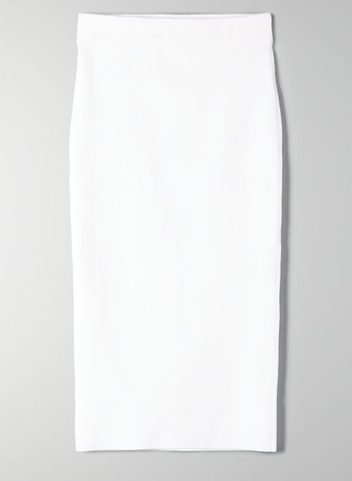 SCULPT KNIT TUBE SKIRT | Aritzia