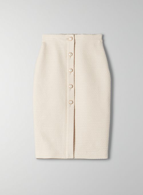 TIMES TWEED SKIRT | Aritzia