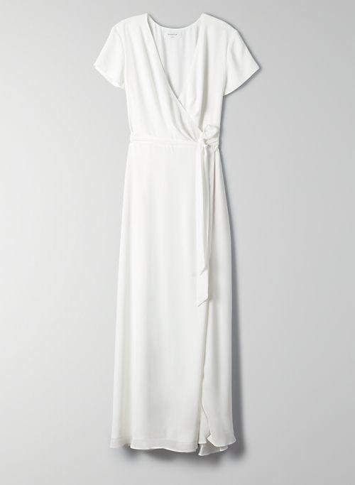 White Wedding Guest Dresses Aritzia Us,Lace Open Back Beach Wedding Dresses