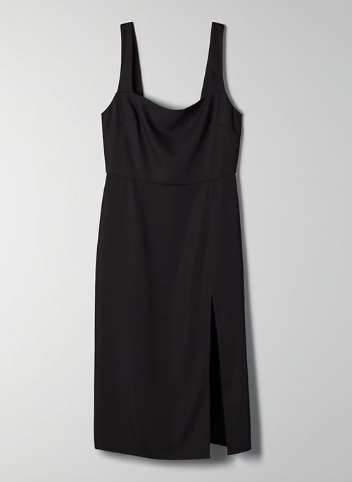 '90S SLIT DRESS | Aritzia