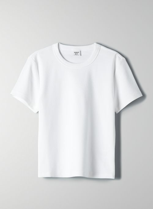 LITTLE RIBBED T-SHIRT | Aritzia