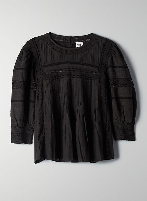JADIE BLOUSE - Victorian puff-sleeve blouse