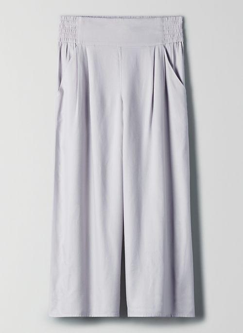 SULLIVAN PANT - High-waisted culottes