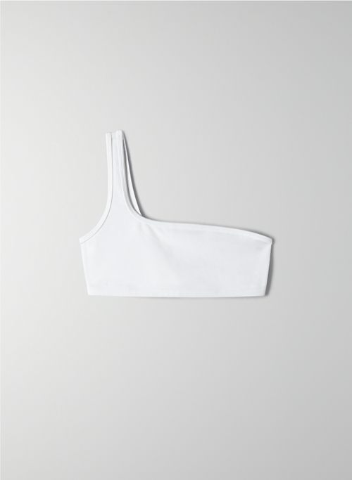 ONE SHOULDER BRA TOP | Aritzia
