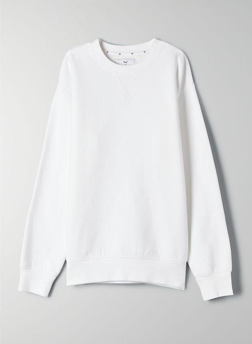 COZY FLEECE PERFECT CREW SWEATSHIRT - Classic crewneck sweatshirt