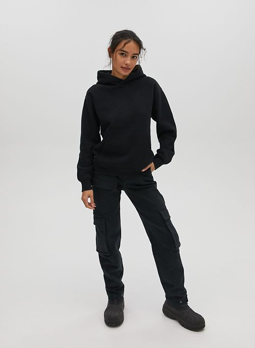 IF Dominick Cant Knit IT NO ONE CAN Hoodie Black