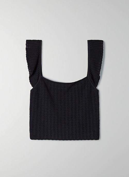 HAIKU TANK - Square-neck knit tank