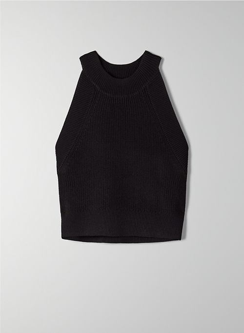 NEW HALTER TANK - Knit halter top