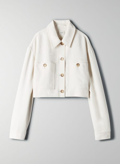 LITTLE CROPPED JACKET | Aritzia