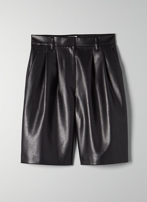 LIMERICK SHORT - Vegan leather shorts