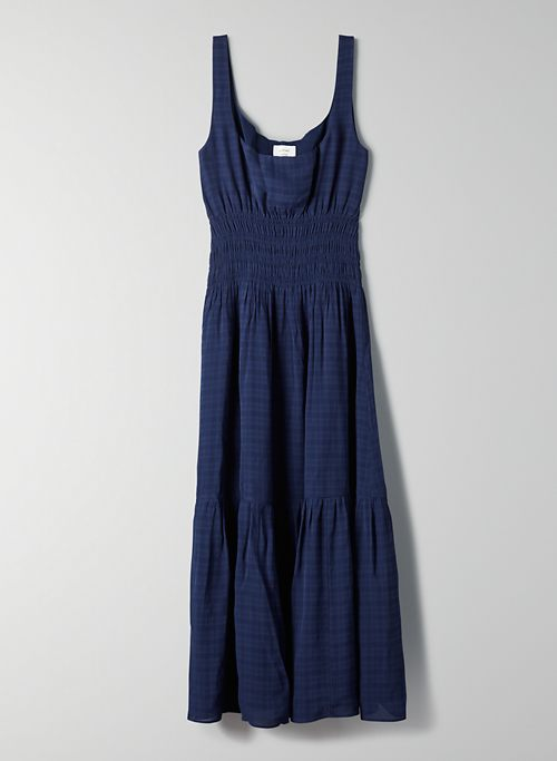 CONTESSA DRESS - Sleeveless checkered dress
